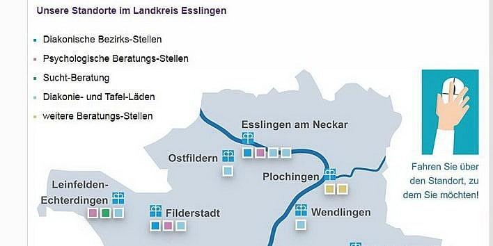 Landkarte in leichter Sprache