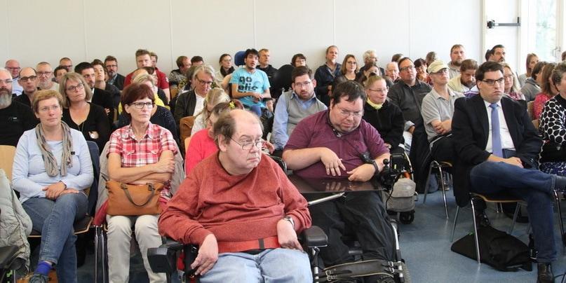 Politik-Veranstaltung mit Behindertenbeauftragter